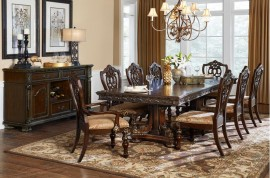 Formal Table + 6 side Chair + 2 Arm Chair