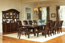 11 Piece Set(Table, 2 Arm Chairs & 8 Side Chairs)