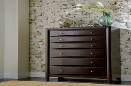 6-Drawer Chest Deep Cappuccino