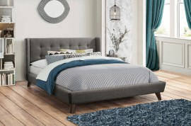 Carrington Button Tufted Bed