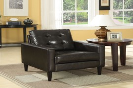 Balin Accent Chair - Espresso PU