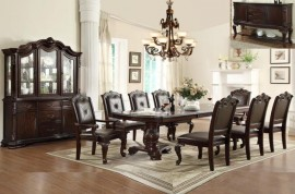 CROWN MARK - Table and 6 Chairs