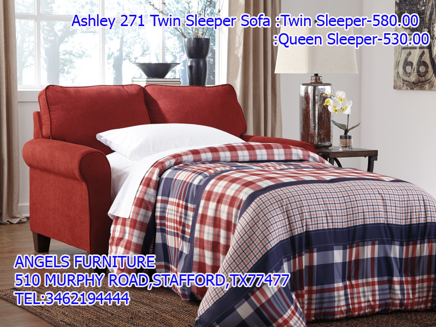 Ashley 271 Twin Sleeper Sofa