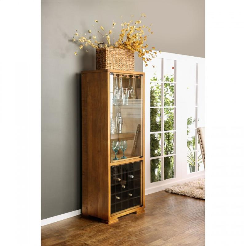 Furniture of America Macapa Wine Cabinet