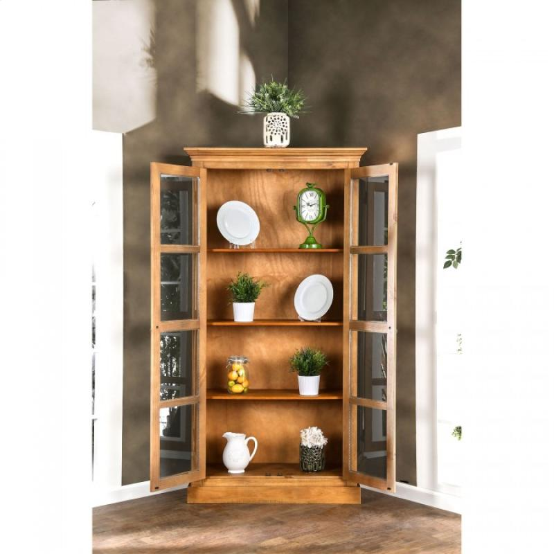 Furniture of America Olinda Display Cabinet