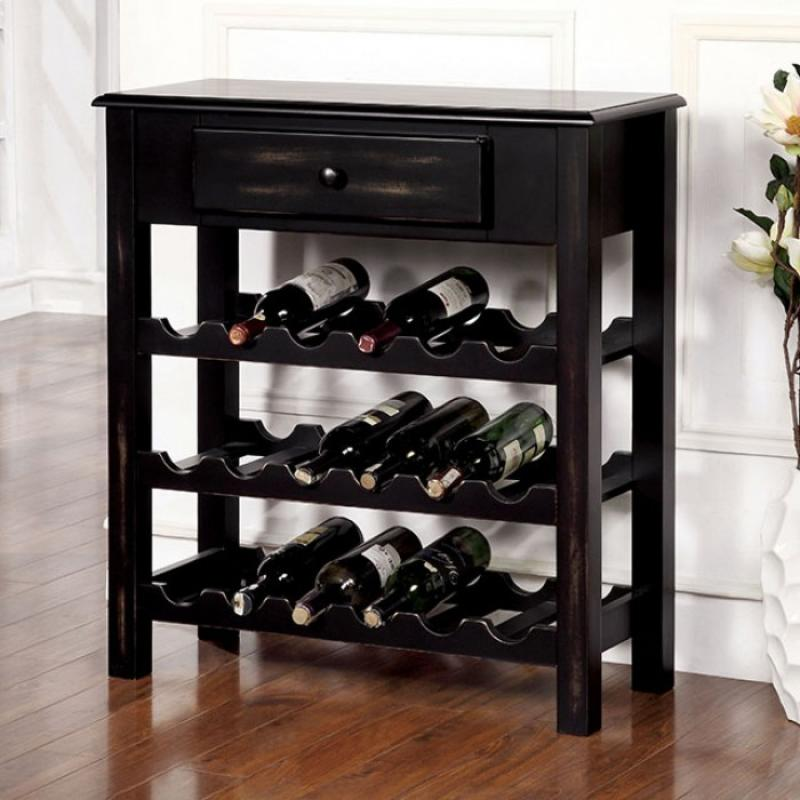 Furniture of America Tessa Wine Cabinet