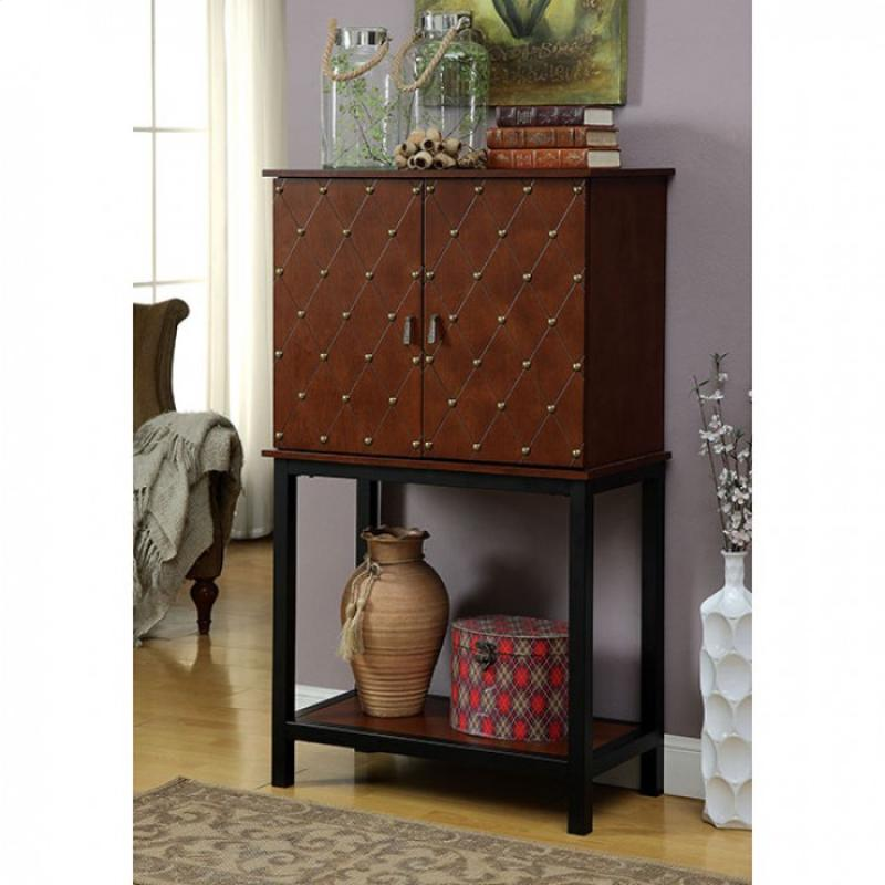 Furniture of America Catlin Wine Cabinet