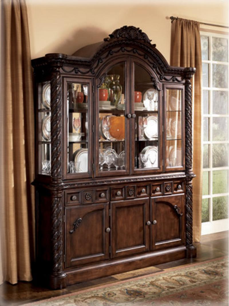 Dining Room Buffet North Shore - Dark Brown Collection Ashley