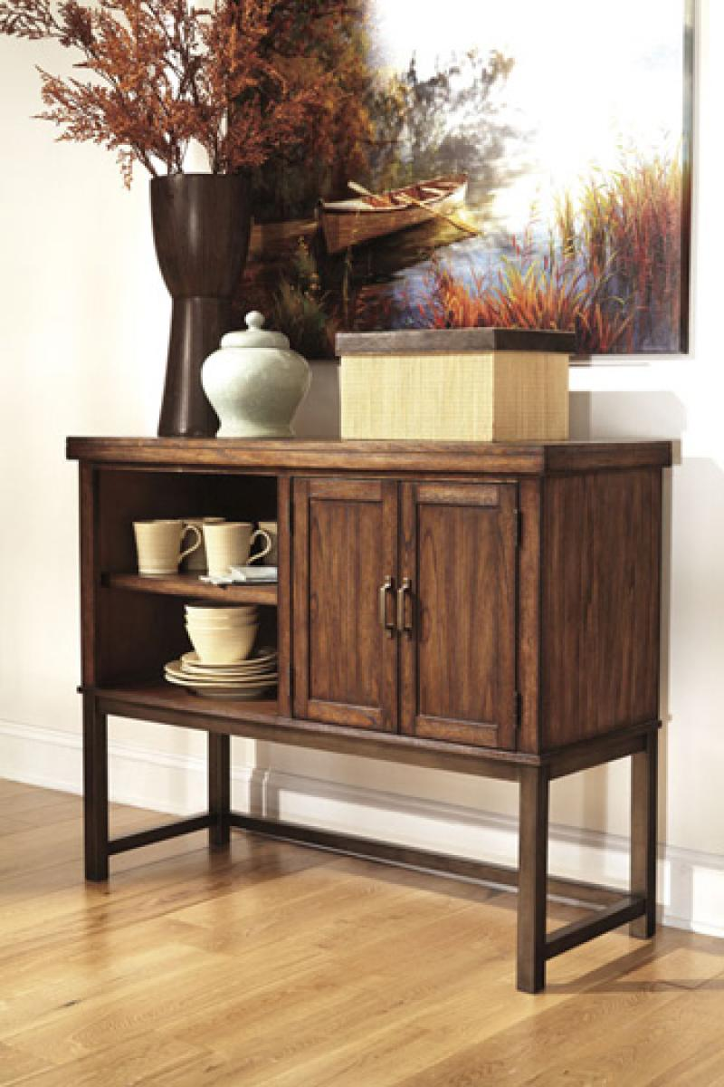 Dining Room Server Riggerton - Burnished Brown Collection Ashley