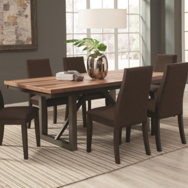 CF-Spring Creek Dining Table with 18'' Extension Leaf