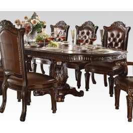 VENDOME PED. DINING TABLE 136L