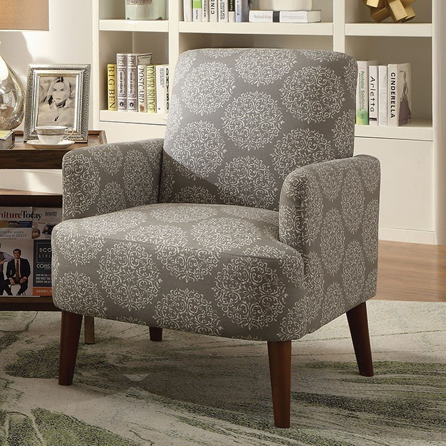 ACCENT CHAIR CM-AC6189GY (FA)