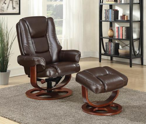CHAIR WITH OTTOMAN (CC)
