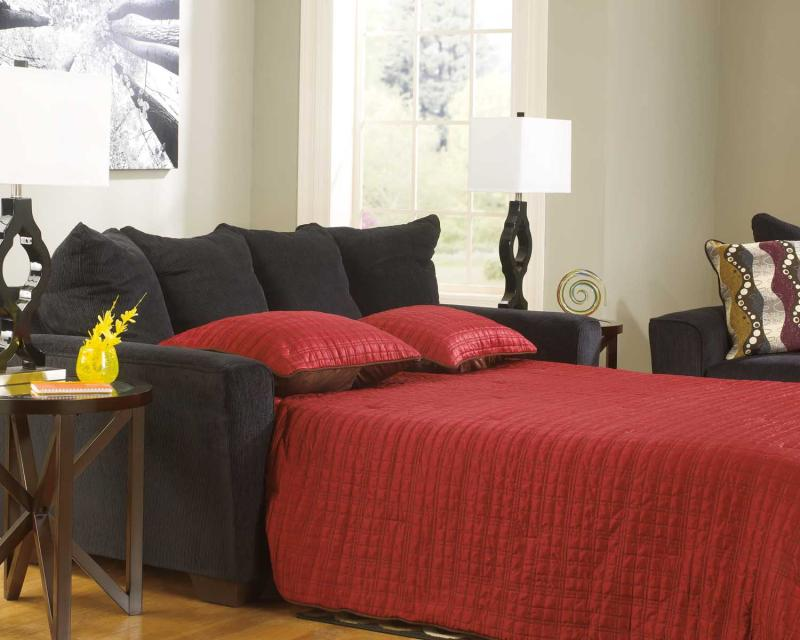 Queen Sofa Sleeper Brogain - Ebony Collection Ashley