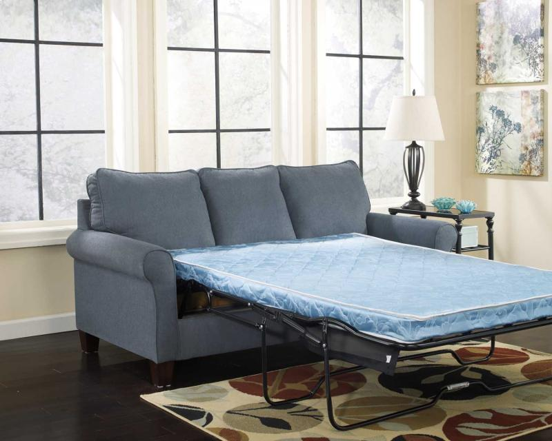 Queen Sofa Sleeper Zeth - Denim Collection Ashley