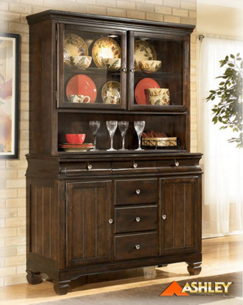 Dining Room Buffet Hayley - Dark Brown Collection Ashley