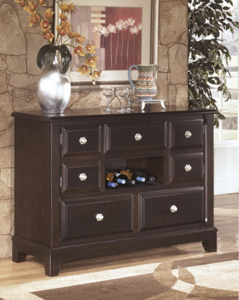 Dining Room Buffet Ridgley - Dark Brown Collection Ashle