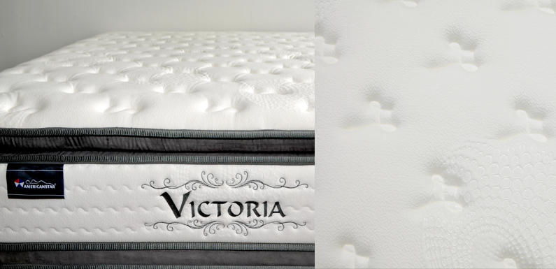 QUEEN VICTORIA MEMORY GEL FOAM DUAL SEASONS SIXTH SENSE? POCKET COIL MATTRESS