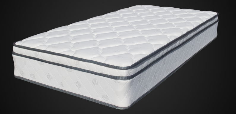 QUEEN JUPITER INNERSPRING PLUSH TOP MATTRESS