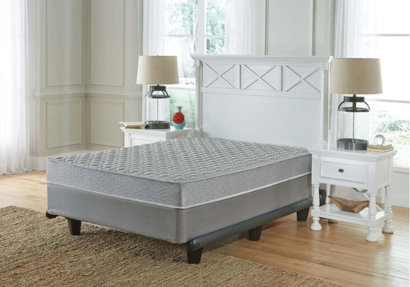 Tori Cove Ltd - Starter Innerspring - White 2 Piece Mattress Set