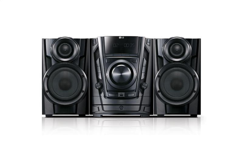 200W Hi-Fi Shelf System with CD, Cassette and Bluetooth® Connectivity